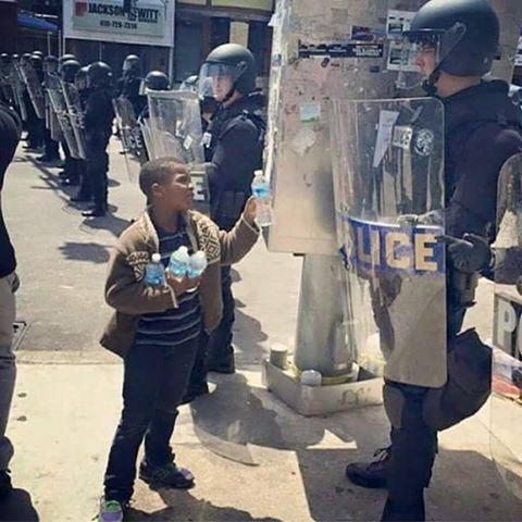 In the News: Baltimore Riots