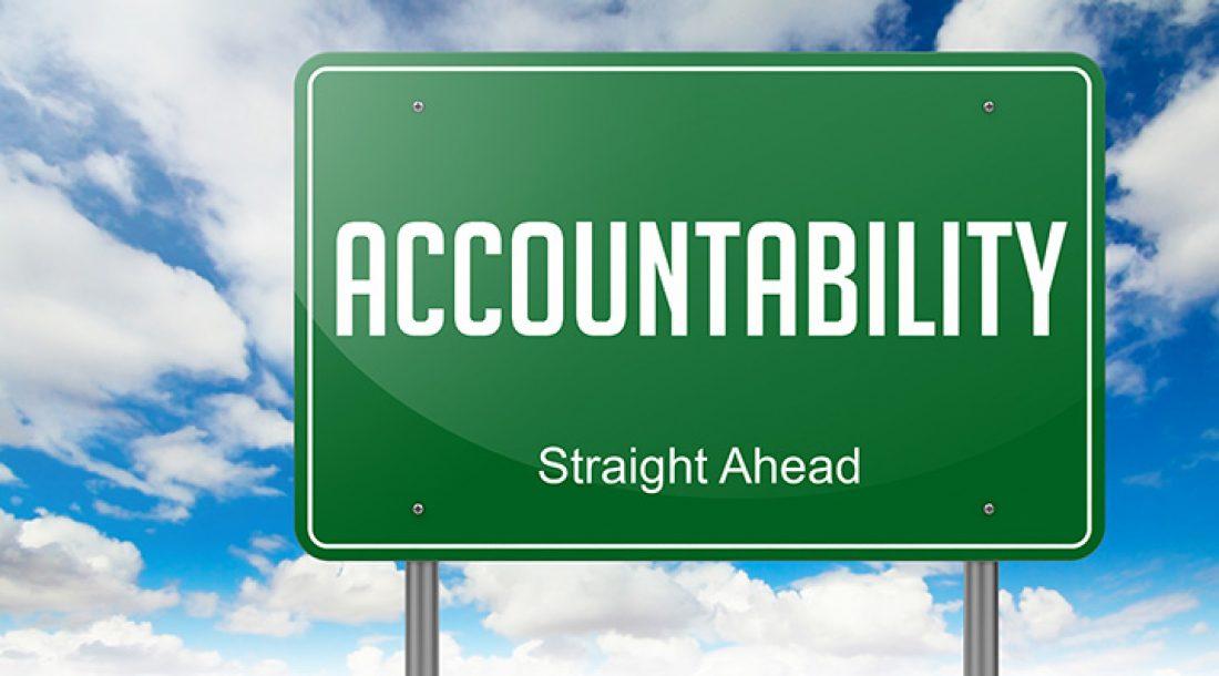 Accountability: A Good Word
