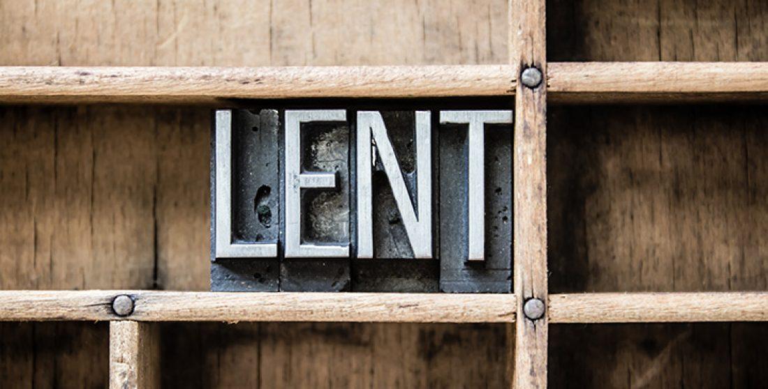 Why I am Celebrating Lent
