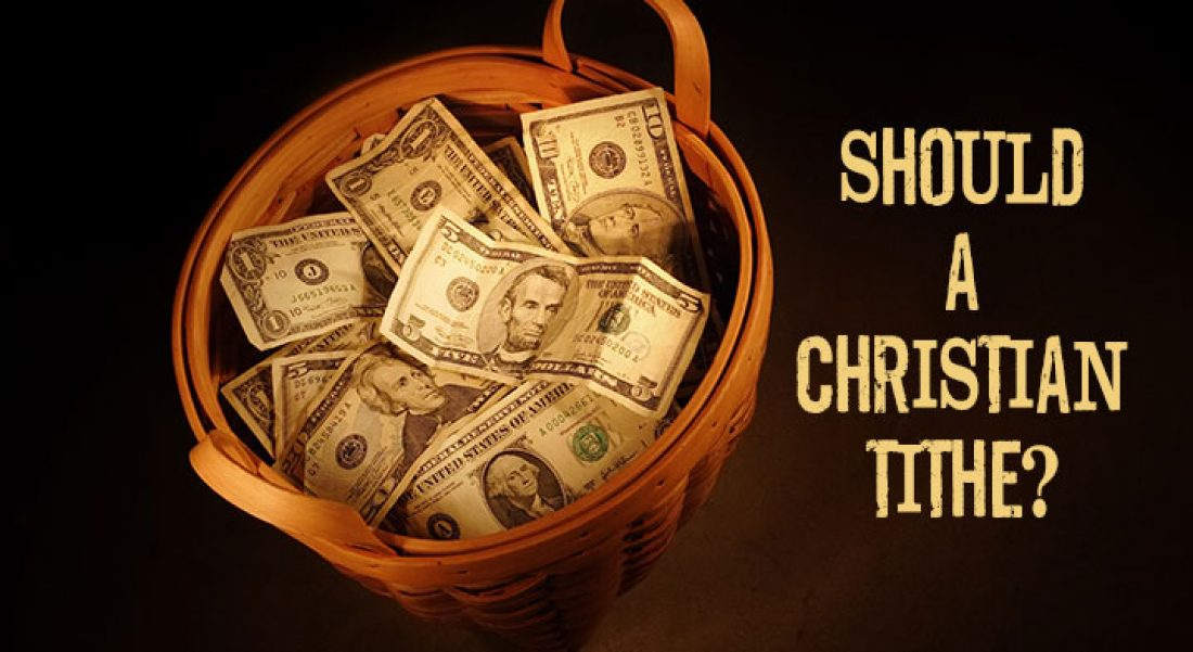 Panel: Should a Christian Tithe?